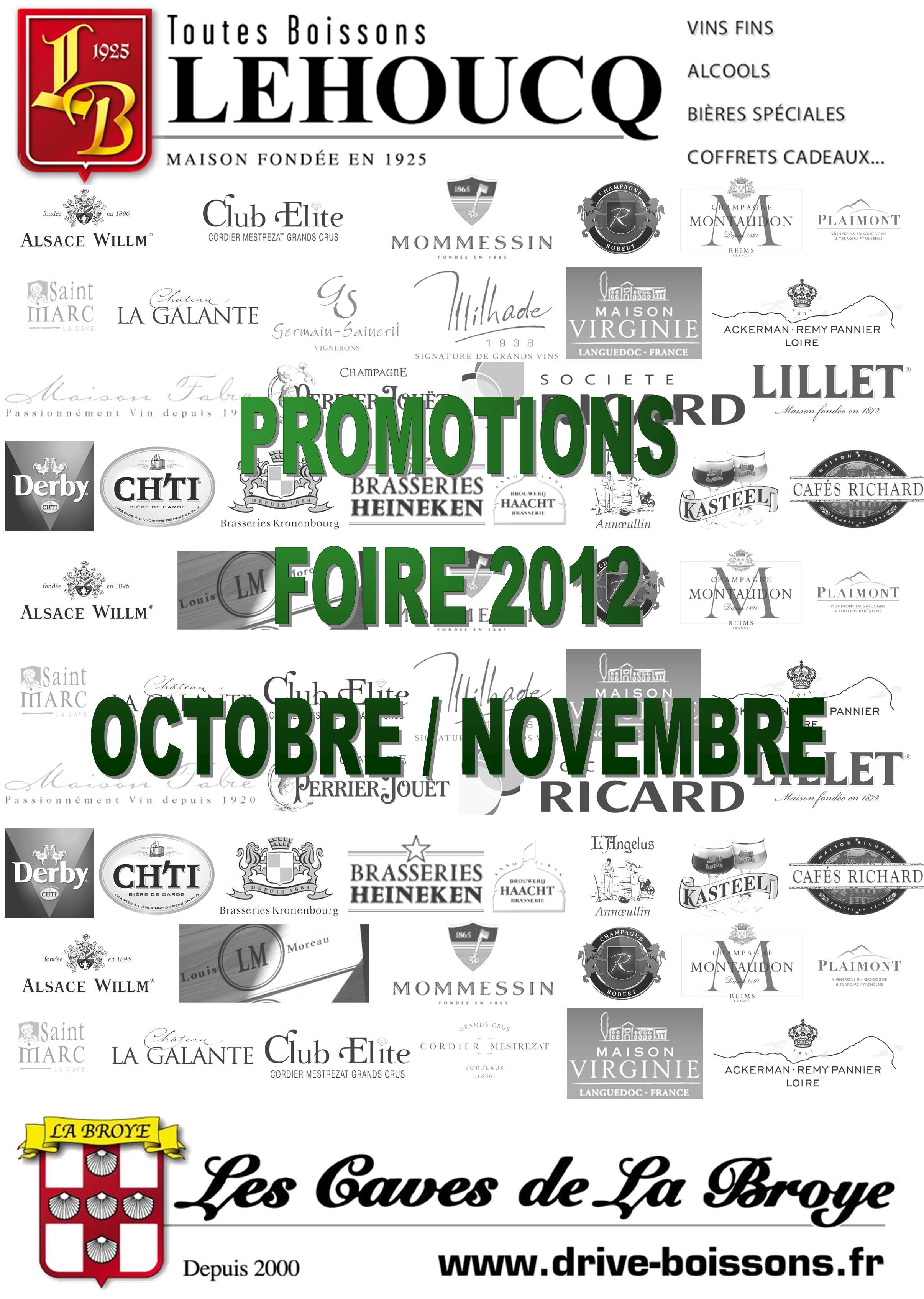 Foire aux vins casino 2012 catalogue